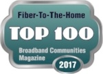 Broadband Communities Magazine - Fiber-To-The-Home Top 100 - 2016