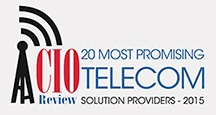 CIO Review 20 Most Promising Telecom Solution Providers 2015